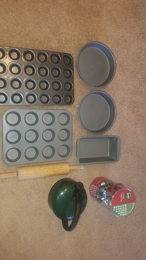 Baking pans, cookie cutters, ect for Sale in Parker, CO