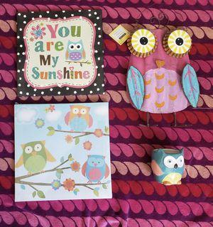 Owl bundle for Sale in Montebello, CA