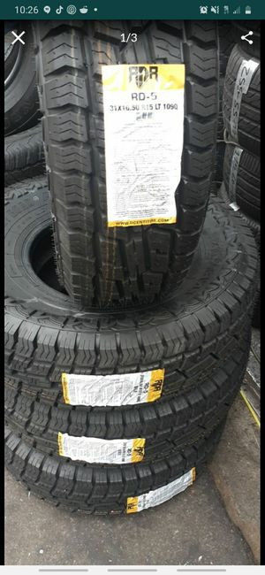 31x10.50R15 LT TIRES for Sale in Burbank, CA