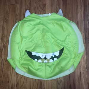 Kids Monsters Inc. costume. It slips over top of clothes so it can fit a large range of sizes. I'd say from an 8 up for Sale in Saint Albans, WV