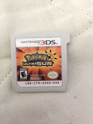 Pokémon Ultra Sun - Nintendo 3DS for Sale in El Cerrito, CA