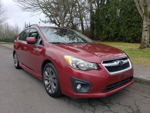 2013 Subaru impreza 4wd AUTOMATIC 4CYL very clean LOW MILES sport nice car for Sale in Portland, OR