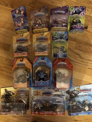 Skylanders figures video games kids action figure characters new for Sale in Parma, OH