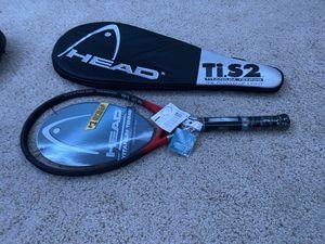Head titanium tennis racket with no net. for Sale in Longmont, CO