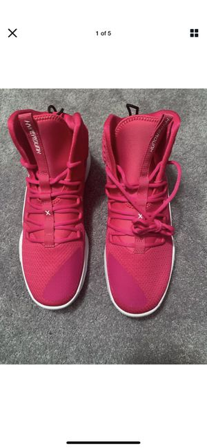 Nike Hyperdunk X TB Pink Cancer Awareness AT3866-609 Men's Size 12 for Sale in Bartlett, IL