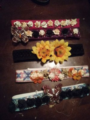Headbands for teens and young adults and ladies 🚺 5 bands for$10 for Sale in Santa Fe Springs, CA