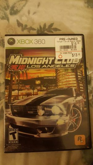 midnight club LA for Sale in Sanger, CA