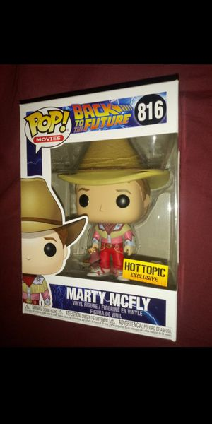 "Back to the Future 3 ""Marty McFly"" Hot Topic Exclusive Funko Pop for Sale in Los Angeles, CA"