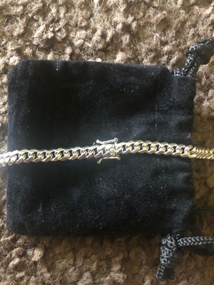 Silver Cuban link and rope link for Sale in Glendora, NJ