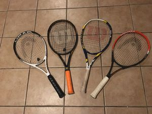 Tennis Rackets $15/each for Sale in Boston, MA
