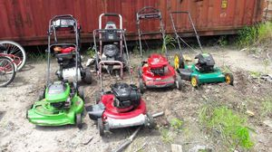 Message me, if you have junk lawnmowers or no longer want lawn mowers for Sale in Bowie, MD