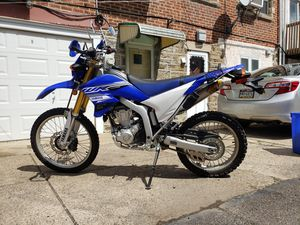 2019 wr250r will trade for rv/ van for Sale in Philadelphia, PA