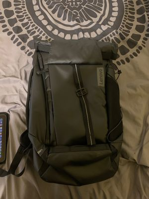 Lenovo commuter backpack roll top for Sale in Pomona, CA