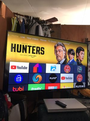 "55"" Sharp Roku TV with stand for Sale in Honolulu, HI"
