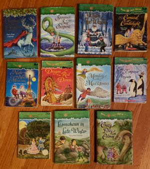 Magic Tree House Merlin Mission series lot of 11 books for Sale in St. Charles, IL