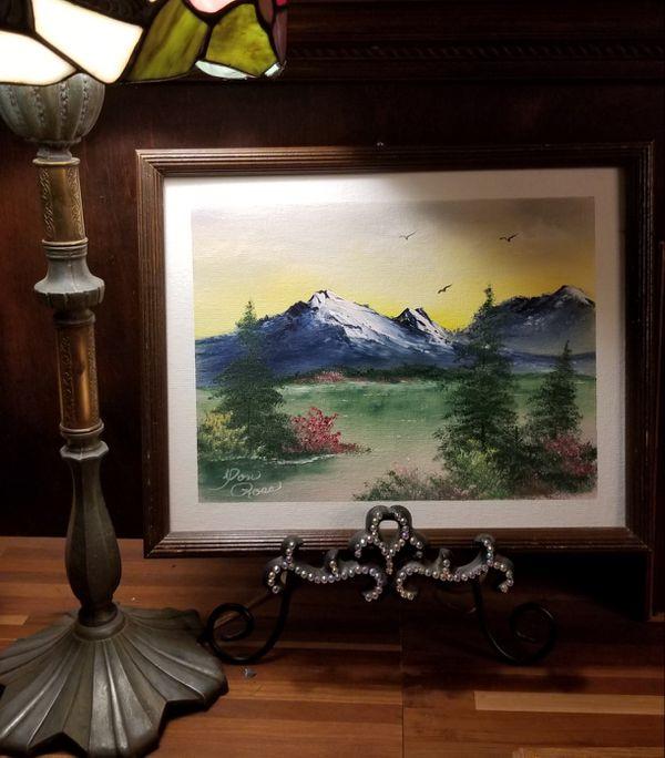 Oil painting Dan Ross