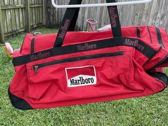 Red Marlboro Duffle Bag for Sale in Hialeah,  FL
