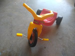 Toddler tricycle, Umbrella stroller, kid/ toddler chair, Ryobi toolbox for Sale in Frisco, TX