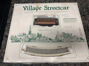 Dept 56 village streetcar for Sale in West Palm Beach, FL