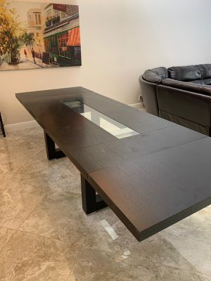 Extendable Wood table and chairs - delivery is negotiable for Sale in Coconut Creek, FL