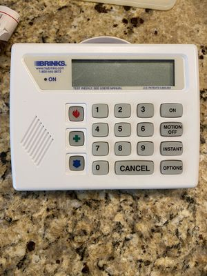Brinks Home Security Electronic Control Panel, in great shape! for Sale in Mason, OH