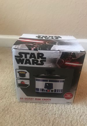 Star Wars Mini Crock Pot for Sale in Lithonia, GA