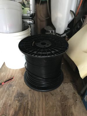 Aerial rg16 cable plus three full rolls and two spare rolls for Sale in Odenton, MD