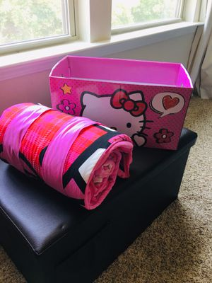 Hello kitty sleeping bag for girls for Sale in Wake Forest, NC