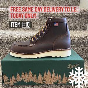 American Made Steel Toe Work Boot/Bota De Trabajo Americana Danner Con Casquillo for Sale in Highland, CA