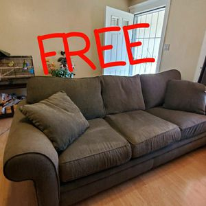 Sofa (Drk. Green, Large ) for Sale in Sacramento, CA