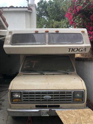 Tioga RV- NO ENGINE just shell **read description for Sale in Riverside, CA