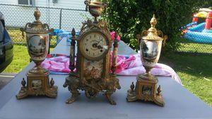 Italian Antique clock set for Sale in Philadelphia, PA