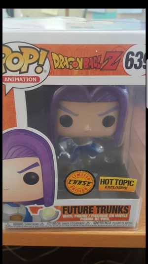 Dragon Ball Z Exclusive Funko Pop! CHASE Future Trunks for Sale in Chula Vista, CA