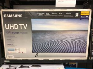 "49"" SAMSUNG UN49MU800D 4K UHD HDR LED SMART TV 240HZ 2160P (FREE DELIVERY) for Sale in Lakewood, WA"