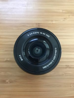 Sony e mount 16-50mm lens for Sale in Richmond, VA