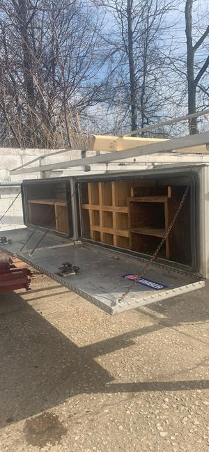 Truck boxes and ladder rack for Sale in Painesville, OH