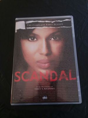 Scandal The Complete First Season dvd for Sale in Surprise, AZ