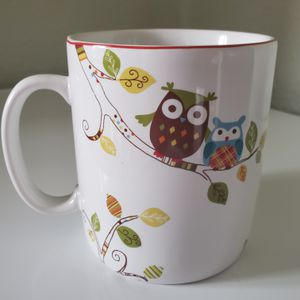"""Jumbo Owl Mug """"ENCHANTED WOODS"""" by 222 Fifth for Sale in Palm Bay, FL"""