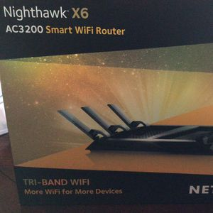 Netgear Nighthawk X6 Smart Wifi Router for Sale in Hollywood, FL