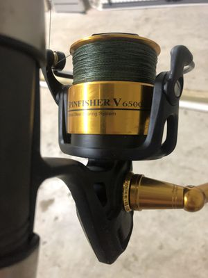 Jigging uglystick with a 6500 Spinfisher for Sale in Houston, TX