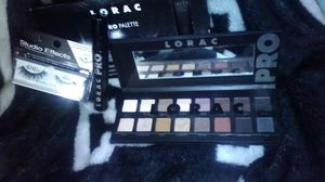 Lorac makeup palette mascara and eyelashes for Sale in Beaumont, TX