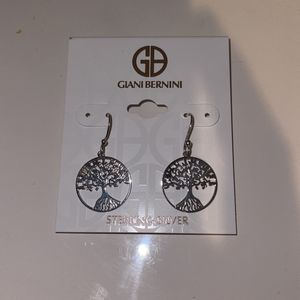 Sterling Silver Tree Of Life Earrings for Sale in Houston, TX