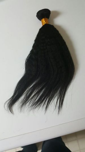"Brazilian human hair kinky straight 14"" 300g for Sale in Glenarden, MD"