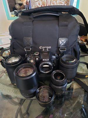 Nikon D5300 bundle for Sale in San Diego, CA
