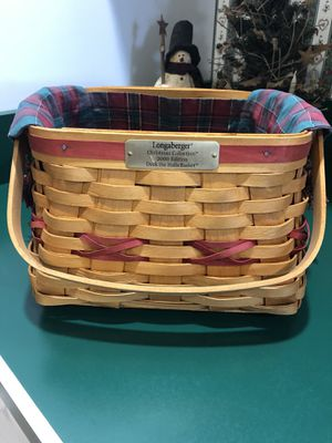 Longaberger Christmas Basket for Sale in East Berlin, PA