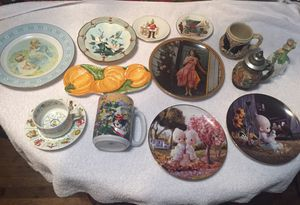 Nick nacks, plates, German Steins, Astrological cup and saucer, Italian Pumpkin dish for Sale in Houston, TX