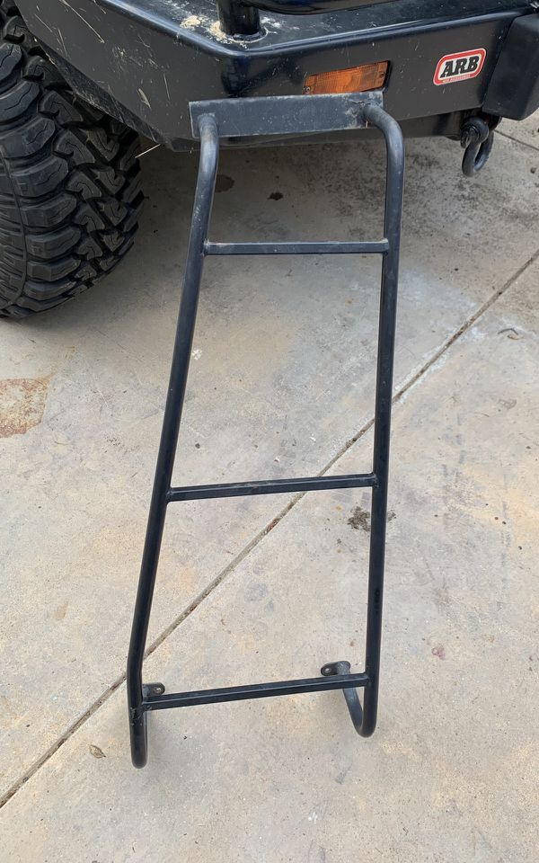 Discovery 2 OEM rear ladder