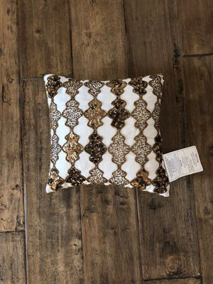 "Decorative pillow from home goods 12"" x 12"" for Sale in Brea, CA"