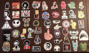 50 vinyl sticker bundle- skater pink theme for Sale in Fontana, CA