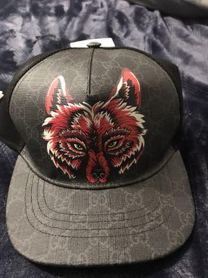 Men's Gucci Supreme Canvas Wolf Hat for Sale in Riverside, CA